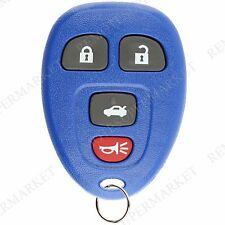 Replacement for Buick Allure Lacrosse Chevy Cobalt Malibu Remote Key Fob 4b Navy