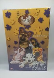 Serendipity 65340 Choose Me! 800 Piece shaped Jigsaw Puzzle, Puppies, Sealed