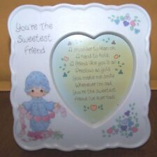 Precious Moments You're The Sweetest Friend Photo Frame 1993 - 255955A