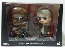 Hot Toys Star Wars The Last Jedi Han Solo & Chewbacca Cosbaby Disney