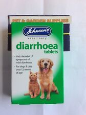 JOHNSONS DIARRHOEA TABLETS FOR DOGS & CATS