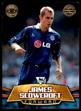 Topps Premier Gold 2002 - Leicester City James Scowcroft - LC4