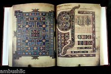 Lindisfarne Gospels, Full 518 Page Color Facsimile