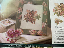 Wall Decals Fairies Fairy Apple Blossom Flowers Wallies Decoupage Paper Cutouts