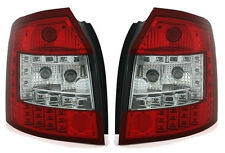 LED taillights set in RED CLEAR for AUDI A4 Avant 8E B6 combi wagon LIGHTS 01-04