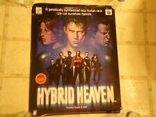 Hybrid Heaven Nintendo 64 N64 Store Display Original Promo Poster RARE!