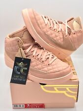 PRE-OWNED LIMITED Air Jordan 2 x Just Don Retro GG ARCTIC ORANGE YOUTH SIZE 7 Y