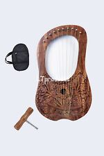 LYRE HARP 10 METAL STRINGS WITH FREE BAG & KEY $69..99