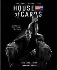 House of Cards: The Complete Second Season (Blu-ray + Digital) *MINT*