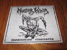 "NUCLEAR WINTER ""Abomination Virginborn"" MCD dead congregation"