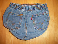 New listing Rare Htf Levi's Usa Baby 12 Month Denim Jean Bubble Shorts Bloomers