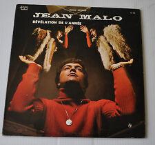 JEAN MALO: Revelation de l'Année LP Record Quebec Yeye Pop 1960s