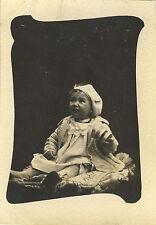 PHOTO ANCIENNE - VINTAGE SNAPSHOT - ENFANT BÉBÉ JOUET MODE - CHILD TOY FASHION