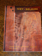 Ivey-Selkirk 20th Century Design  Auction Catalog April 2002