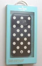 New Samsung Galaxy S7 Kate Spade New York Hybrid Hardshell Dot Black Cream Case