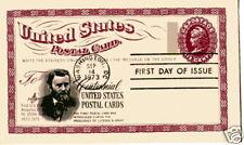 UX65 US Postal Card Centennial, ArtCraft, FDC