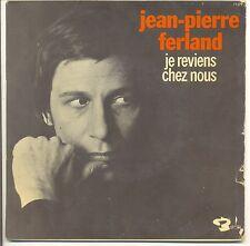 JEAN-PIERRE FERLAND Pochette VIDE de 45T EP JE REVIENS CHEZ NOUS - BARCLAY 71379