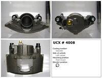 Undercar Express 10-4008S Frt Left Rebuilt Brake Caliper With Hardware