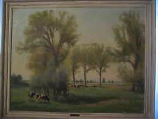 CARL WEISGERBER, Ahrweiler 1891-1968 Düsseldorf, Landschaft mit Kühen