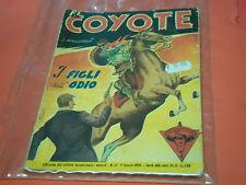 EL COYOTE DI J.MALLORQUI N° 37 DARDO 1952 -RARO ROMANZO COLLANA DEL COYOTE