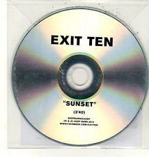 (DC928) Exit Ten, Sunset - 2012 DJ CD