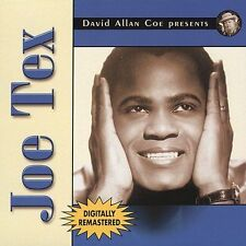 David Allan Coe Presents Joe Tex by Joe Tex (CD, May-2003, Coe Pop Records)