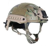 Military Tactical Airsoft Paintball FMA  Ballistic Helmet  Multicam T460L/XL