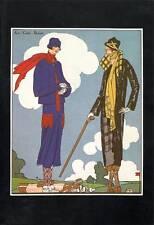 Vintage ART DECO Fashion Print..1925 Art, Gout, Beaute..'Becassine' 'Nerzo'