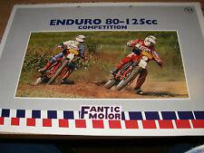 FANTIC ENDURO 80-125 CC competition    - brochure -prospekt-italiano