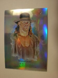 2008 WWE Topps Chrome Allen & Ginter The Undertaker Base Card Rare HOF-Refractor