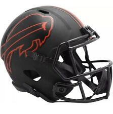 Riddell Buffalo Bills Eclipse Alternate Revolution Speed Replica Football Helmet