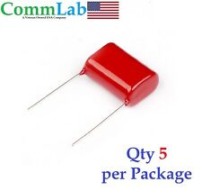 0.82uF 630v 5% Metalized Polypropylene Film Capacitors P20 (5 Pieces) (.82uf)