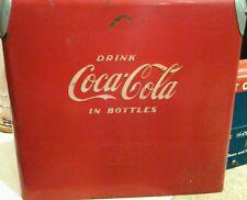 Vintage Coca Cola Cooler 1950's  has Bottle Opener Original Action Made Coke BG