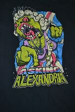 Asking Alexandria Band British Zombie Queen T Shirt Large Slim UK Rock Metal