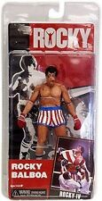 Neca Rocky figure Rocky IV 4 battle damage bloody spit post fight US Flag shorts