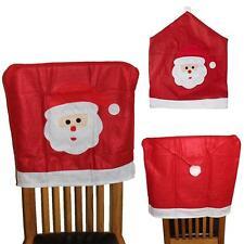 Christmas Room Decoration Novelty Santa Chair Back Cover