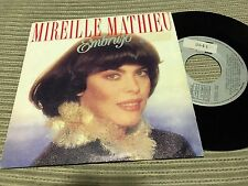 "MIREILLE MATHIEU - SUNG IN SPANISH 7"" SINGLE SPAIN ARIOLA 89 EMBRUJO"