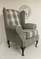 Country Checked Armchairs For Sale Ebay