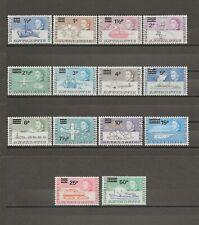 More details for british antarctic territory 1971 sg 24/37 mnh cat £85