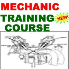 Auto Car Truck Gas and Diesel Mechanic Training Instruction Course Cd