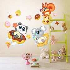 RCC0008 WallStickers Adesivi Murali Bambini Cuccioli sulla Via Lattea 30x120 cm