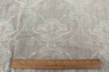 "French Old Art Nouveau c1910 Cotton Mattress Ticking Fabric~L-21"" X W-54"""
