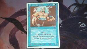 1X Serendib Efreet - Revised Edition - Italian, MP MTG CARD