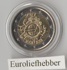 België      2 Euro Commemorative 2012  10 Jaar Euro   (2002 - 2012)  Op Voorraad