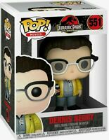 "Funko Toys PoP Movies Jurassic Park Dennis Nedry 4"" Figure #551"