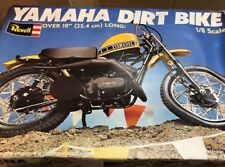 Revell 1/8 h-1554 Yamaha dirt bike vintage model motorcycle kit conts sealed