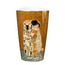 "Gustav Klimt ""El Beso"" goebel artis orbis - Jarrón de porcelana Florero de mesa"