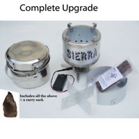 SIERRA ZIP STOVE #111C- For Camping Survival Emergency Bushcrafting-IN STOCK NOW