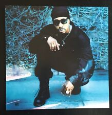 MC HAMMER 1994 2-SIDED PROMO POSTER FLAT THE FUNKY HEADHUNTER MINT