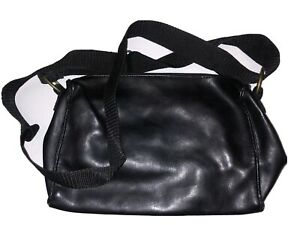 Black PU SHOULDER BAG Handbag Brand New